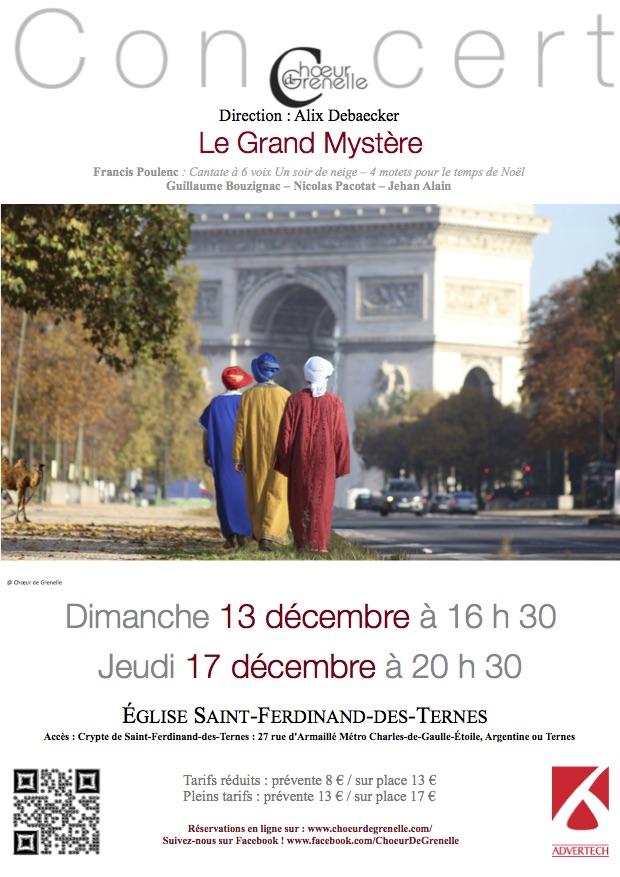 « Le Paris des Rois Mages » – Concert les 13 et 17 décembre 2015