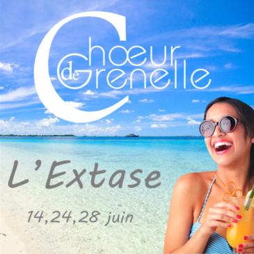 """""""L'Extase"""" – les 14, 24 et 28 juin"""