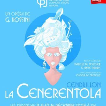 Opéra La Cenerentola, théâtre du Ranelagh