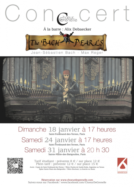 « The Bach Pearls » – Programme