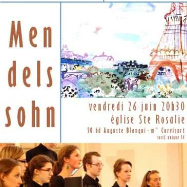 Prochain concert du Choeur de Grenelle